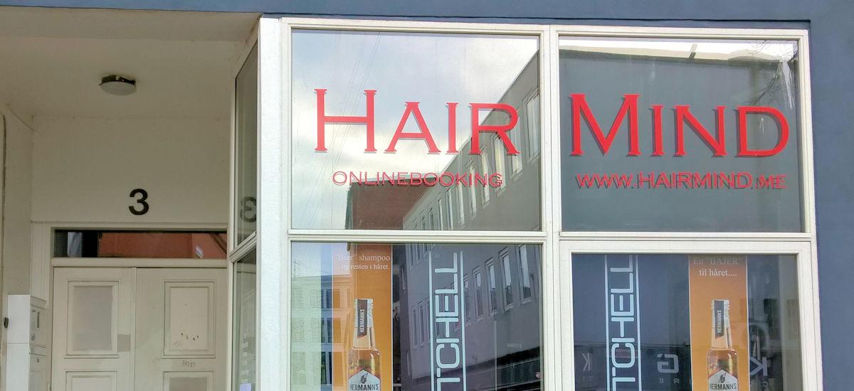 salon hairmind facade